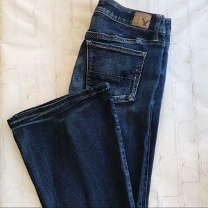 [American Eagle] superflare super stretch jeans 10